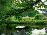 étang et jardins