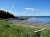 plage du Bic à l'ile au flacon