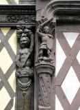 décor de maison du XVe siècle