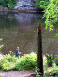 pêcheur de rivière