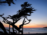 Sunset à Carmel-by-the-sea