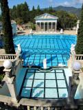 la piscine romaine du Hearst castle