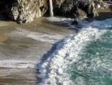 Déferlente  à  Big Sur