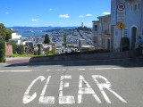 Clear, une approche vers Lombard street