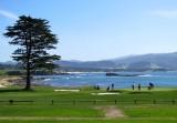 Pebble Beach golf course  18e trou