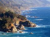 la côte déchiquetée de  Big Sur