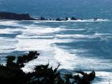 Vagues à Big Sur