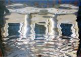 reflet dans l'atrium - Getty villa