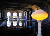 la somptueuse piscine intérieure -  Hearst Castle