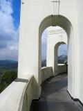 chemin de ronde au Griffith Observatory