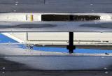 Le plancher bleu du Pier 39