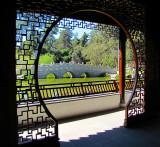 porte fenêtre chinoise