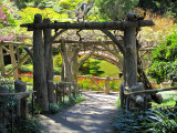 arrivée au jardin japonais