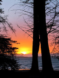 un coucher de soleil spectaculaire, Morro Bay