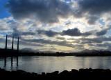 Ciel de nuages à Morro Bay