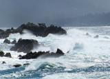 le fracas silencieux des vagues