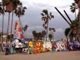 Garfield à la plage