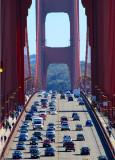 Traffic sur le pont