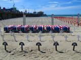 le cimetière sur la plage