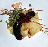 assiette de boudin noir