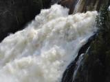 L'eau blanche de la rivière du Loup