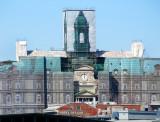 Mairie de Montréal dans ses habits de rénovation