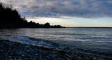 marée haute au Bic
