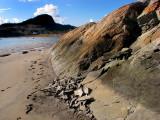 les rochers usés de l'ile aux Amours