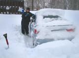 41 cm de neige , un bon début cet hiver!!!