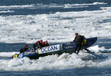 Océan sur le pack de glace