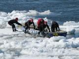 Océan sur la glace