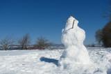 le profil du bonhomme de neige
