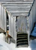 forme  du piège en bois