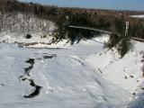 le bassin de la Chaudière en fin d'hiver