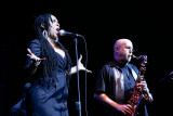 Tom Scott & Paulette McWilliams at Java Jazz 2009
