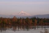 Mt. Baker over Tenant Lake