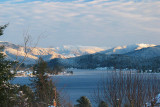 Lake Whatcom on a Winter Afternoon