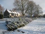 Snow, De Bilt, 25 march 2008