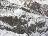 Panorama View of Mountains