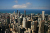 View north from Sears Tower