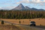 Mt Thielson near Crater Lake