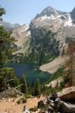 Alpine Lake in the Sawtooth Range