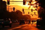 Sunset in Missoula