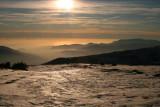 Sun and Ice reflection, Sierra Nevada