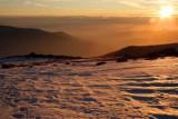 Sundown in the Sierra Nevada