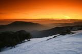After sundown in the Sierra Nevada