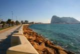 Seafront at La Linea near Gibraltar