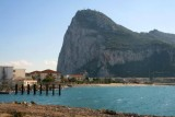 Rock of Gibraltar from La Linea