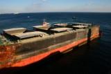 Shipwreck off Gibraltar