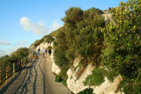Road up Rock of Gibraltar